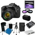 Canon EOS 7D Pro Digital SLR Camera with 28-135MM Lens Bundle
