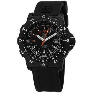 Luminox Men's A8822.MI 'Recon Land' Black Dial Black Rubber Strap Swiss Quartz Watch