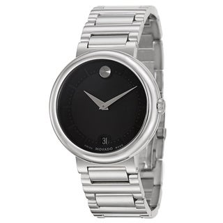Movado Men's 0606541 'Concerto' Stainless Steel Watch