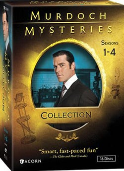Murdoch Mysteries Collection: Seasons 1-4 (DVD)