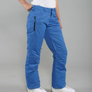 Zonal Women's 'Standoff' Skydiver Blue Snowboard Pants