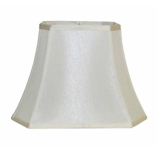 Off-white Silk Lamp Shade