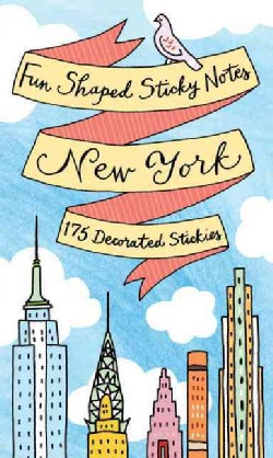 New York Fun Shaped Sticky Notes (Notebook / blank book)