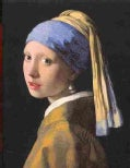 Girl With the Pearl Earing Portofolio Notes (Cards)