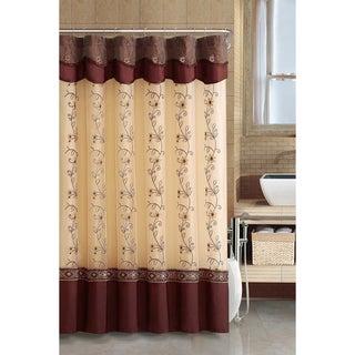 Daphne Cinnamon Shower Curtain