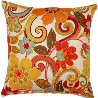Zavalla Rainbow 17-inch Throw Pillows (Set of 2)