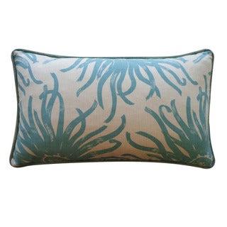 Jiti 12 x 20-inch 'Anenoma' Decorative Down Pillow