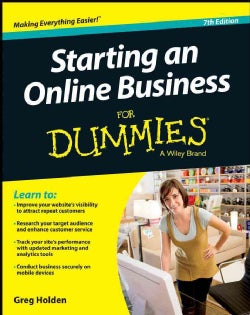 Starting an Online Business for Dummies (Paperback)