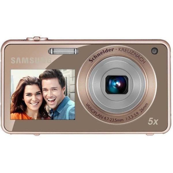 Samsung ST700 2View 16.1MP Gold Digital Camera