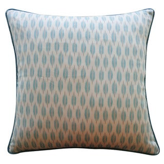 Jiti 'Arrow' Aqua 20-inch Pillow