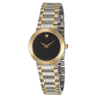 Movado Women's 'Stiri' Stainless Steel and Yellow Goldplated Swiss Quartz Watch