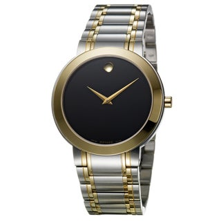 Movado Men's 0606193 'Stiri' Two-Tone Stainless Steel Watch