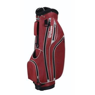 Wilson Red Lite Cart Golf Bag