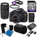 Canon EOS T3 Digital SLR Camera with 18-55mm ISII and 75-300Lens Kit