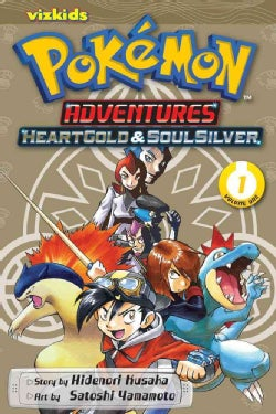 Pokemon Adventures 1: Heart Gold & Soul Silver (Paperback)