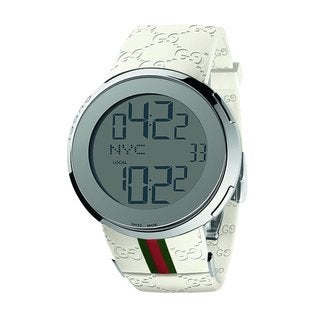 Gucci Men's Stainless Steel I-Gucci Digital Watch