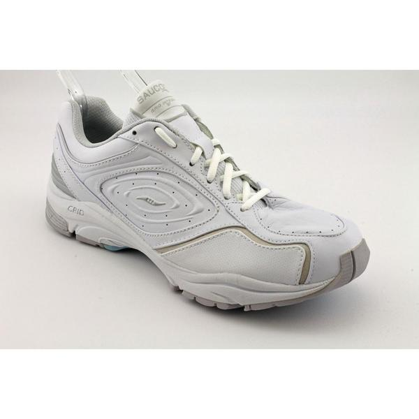 Saucony Women's '5246-1AA' Leather Athletic Shoe (Size 11)