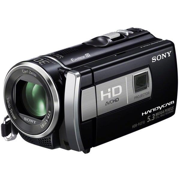 SONY HDR-PJ210 Digital HD Camcorder