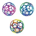 Rhino Toys 4-inch Oballs (Set of 3)