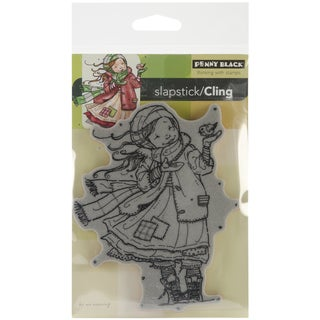"""Penny Black Cling Rubber Stamp 4""""X6""""-Gift Of Love"""