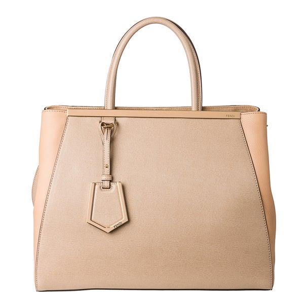 Fendi 8BH250 00D7E F0HUZ Medium 2Jours Shopper Bag