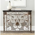 Safavieh Brenda Antiqued Brown Console Table