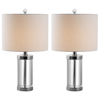 Safavieh Indoor 1-light Laurie Crystal Table Lamps (Set of 2)
