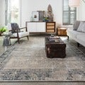 Francis Ivory/ Charcoal Rug (3'3 x 5'3)
