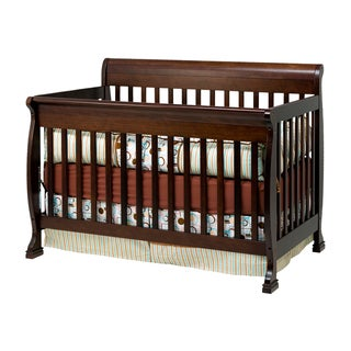 Cadence Espresso 4-in-1 Convertible Crib with Toddler Rail