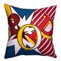 Maxwell Dickson Pop Throw Pillow