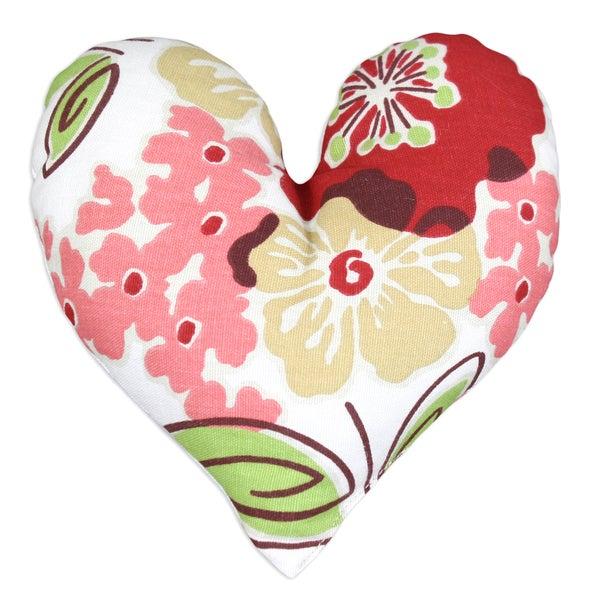 Sydney Rainforest Heart-shaped Pillows (Set of 2)