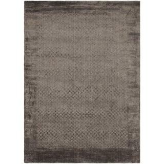 Safavieh Hand-knotted Mirage Grey Viscose Rug (9' x 12')