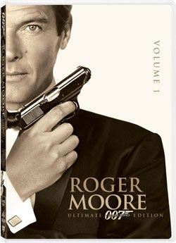 Roger Moore James Bond 007 Ultimate Edition Vol. 1 (DVD)