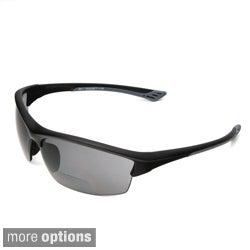 Hot Optix Men's Sport Wrap Bi-focal Reading Sunglasses