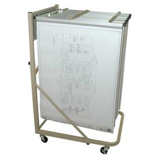 Adir Vertical Blueprint File Rolling Stand