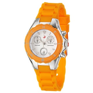 Michele Women's Steel 'Tahitian Jelly Beans' Watch