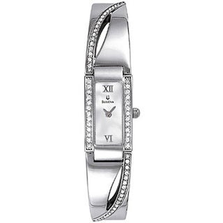 Bulova Women's 96T63 Crystal-accented Bracelet Watch