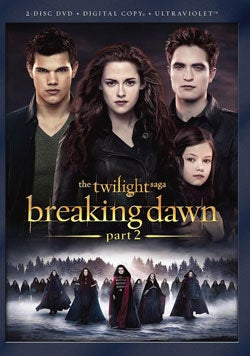 The Twilight Saga - Breaking Dawn Part 2 (DVD)