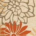 Safavieh Four Seasons Stain-Resistant Hand-Hooked Floral Beige Rug (5' x 8')