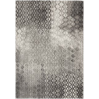 "Safavieh Porcello Contemporary Gray/Black Rug (8' x 11'2"")"