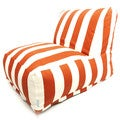 Vertical Strip Bean Bag Chair Lounger