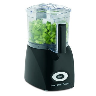 Hamilton Beach 72705 Black Plastic/ Steel Food Processor