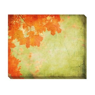 Vintage Autumn Leaves I  Oversized Gallery Wrapped Canvas