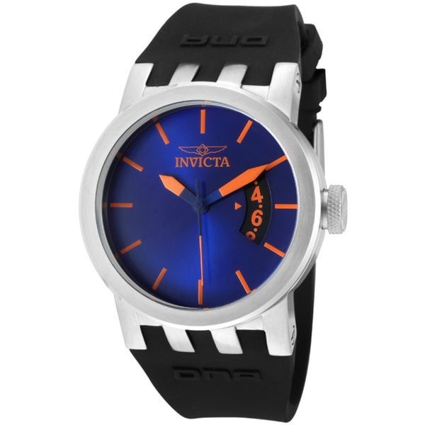 Invicta Women's 'DNA/Urban' Black Silicone Watch