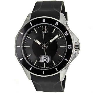 Calvin Klein Men's Silver/Black Play Watch