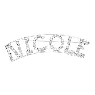 'N Collection' Crystal Name Pin