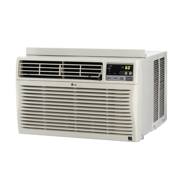 LG 10,000 BTU Window Air Conditioner with Remote (Refurbished)