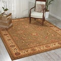 Living Treasures Green Rug (9&#39;9 x 13&#39;9)