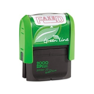 2000 PLUS Red Green Line 'Faxed' Message Stamp
