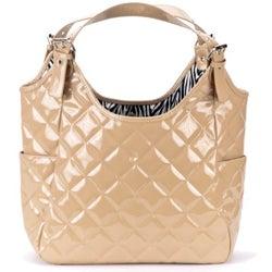 JP Lizzy Crema Satchel Diaper Bag